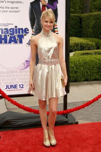 Katie Gill at the Los Angeles Premiere of 'Imagine That'. Paramount Pictures, Hollywood, CA. 06-06-09/ImageCollect