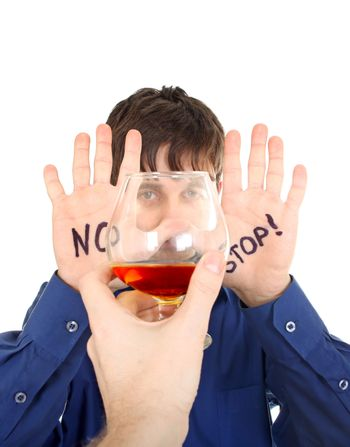 Teenager refuse Alcohol