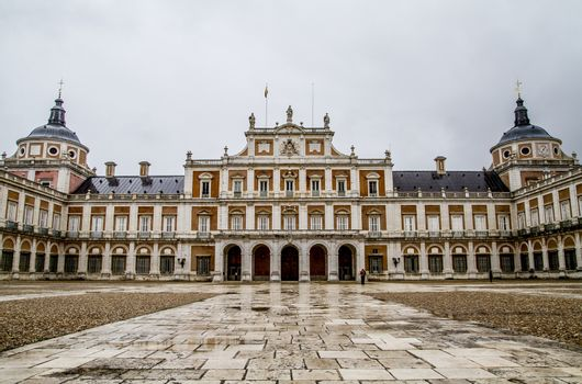 Main gate.Palace of Aranjuez, Madrid, Spain