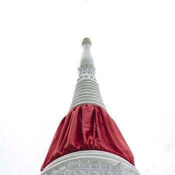 stupa color of Ko-kred Thailand