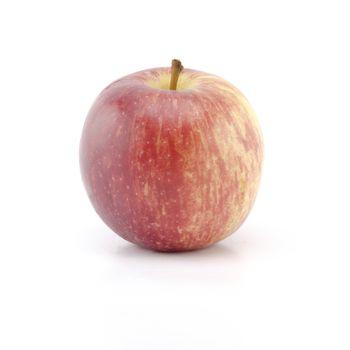 single apple isolated on white