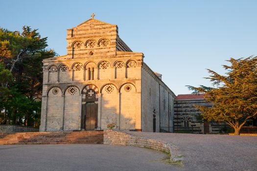 Former cathedral of San Pietro di Sorres