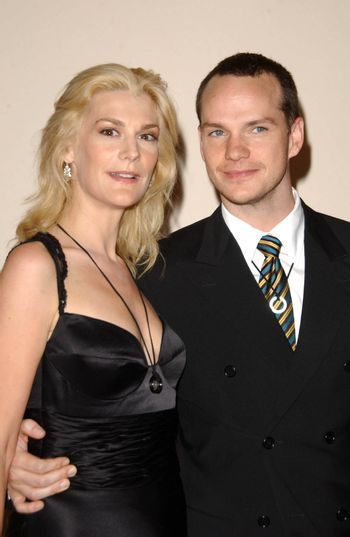 Thea Gill and Peter Paige at the Matthew Shepard Foundation Honors. Wiltern Theatre, Hollywood, CA. 10-27-07/ImageCollect
