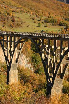 Tara bridge, Durmitor National Park, Montenegro