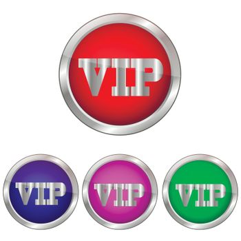 Vector button VIP