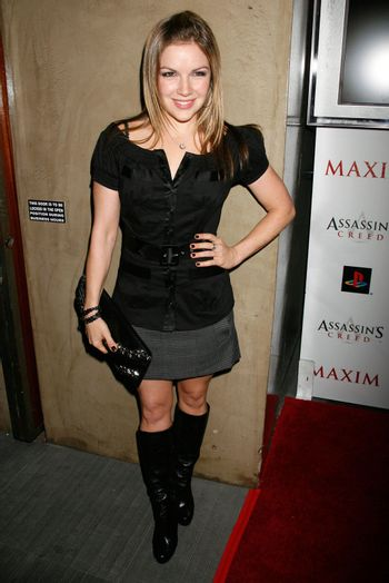 Corri English at the 'Assassin's Creed' Video Game Launch Party hosted by Maxim Magazine. Opera, Hollywood, CA. 11-06-07/ImageCollect