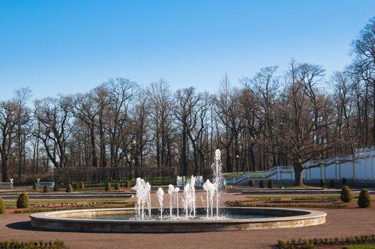 Gardens of Kadriorg Palace  in Tallinn, Estonia