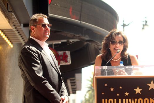 Vince Gill, Amy Grant at the Vince Gill Hollywood Walk Of Fame Ceremony, Hollywood, CA 09-06-12/ImageCollect