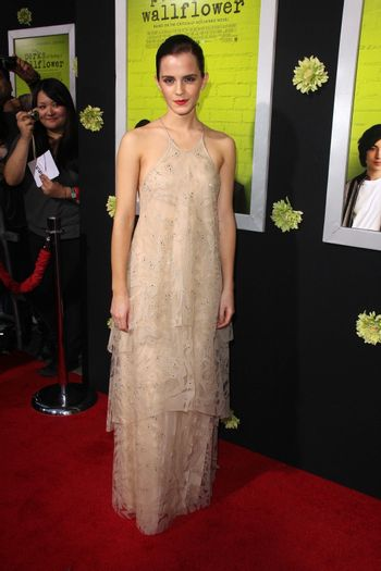 """Emma Watson at """"The Perks of Being a Wallflower"""" Los Angeles Premiere, Arclight, Hollywood, CA 09-10-12"""
