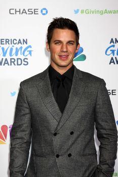 Matt Lanter at the Second Annual American Giving Awards, Pasadena Civic Auditorium, Pasadena, CA 12-07-12/ImageCollect