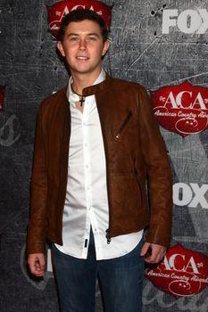 Scotty McCreery at the 2012 American Country Awards, Mandalay Bay, Las Vegas, NV 12-10-12/ImageCollect