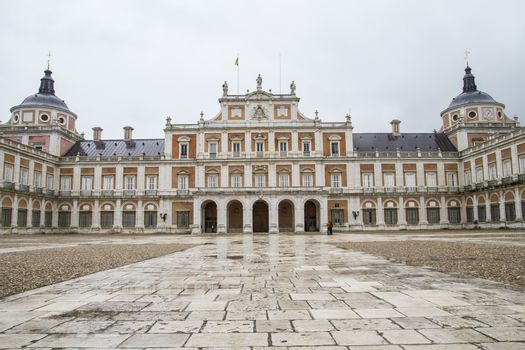 Queen.Palace of Aranjuez, Madrid, Spain, is one of the residence