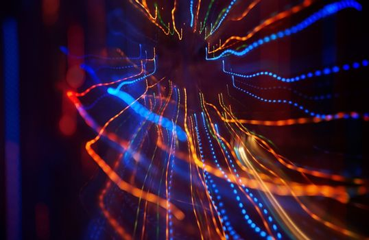 Celebration blurred background