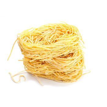 uncooked egg pasta