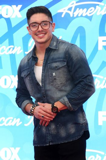 Stefano Langone at the American Idol Season 12 Finale Arrivals, Nokia Theater, Los Angeles, CA 05-16-13/ImageCollect