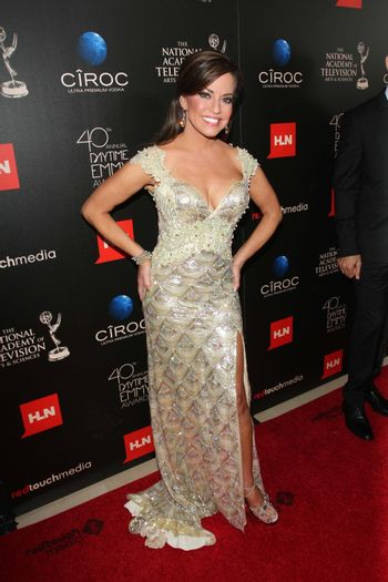 Robin Mead at the 40th Annual Daytime Emmy Awards, Beverly Hilton Hotel, Beverly Hills, CA 06-16-13/ImageCollect