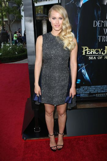 """Leven Rambin at the """"Percy Jackson: Sea of Monsters"""" Film Premiere, Americana at Brand, Glendale, CA 07-31-13/ImageCollect"""