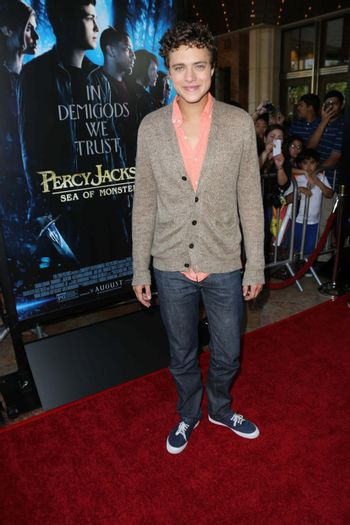 """Jake Able at the """"Percy Jackson: Sea of Monsters"""" Film Premiere, Americana at Brand, Glendale, CA 07-31-13/ImageCollect"""