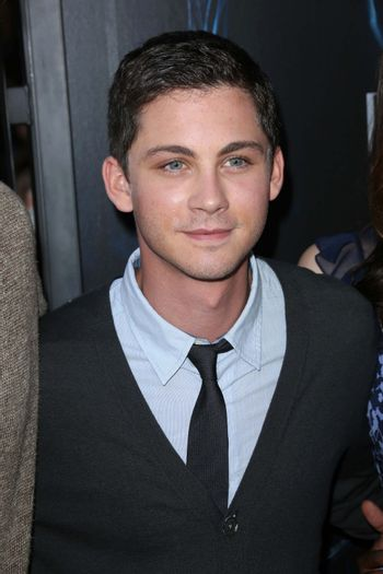 """Logan Lerman at the """"Percy Jackson: Sea of Monsters"""" Film Premiere, Americana at Brand, Glendale, CA 07-31-13/ImageCollect"""