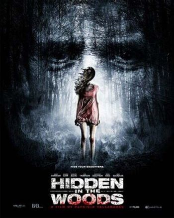 """Poster on the set of """"Hidden In The Woods,"""" Private Location, Richmond, TX 10-05-13 DailyCeleb.com 818-249-4998/ImageCollect"""