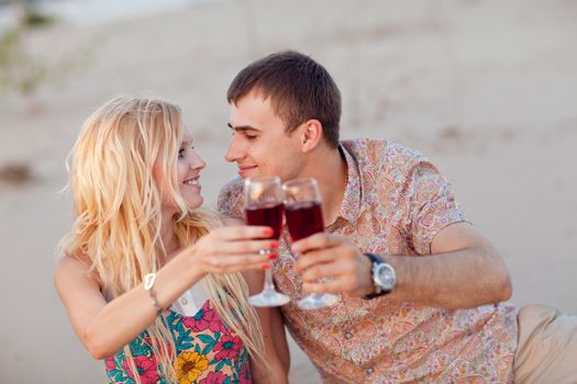 couple with vine outdoors