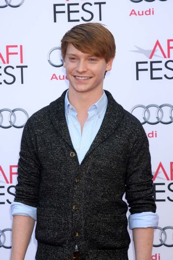 """Calum Worthy at the AFI FEST """"Mary Poppins"""" 50th Anniversary Commemoration Screening, Chinese Theater, Hollywood, CA 11-09-13/ImageCollect"""
