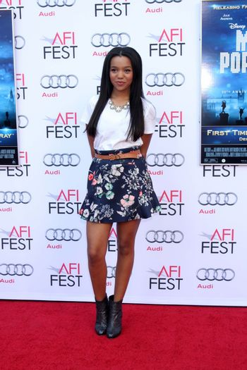 """Daphne Blunt at the AFI FEST """"Mary Poppins"""" 50th Anniversary Commemoration Screening, Chinese Theater, Hollywood, CA 11-09-13/ImageCollect"""