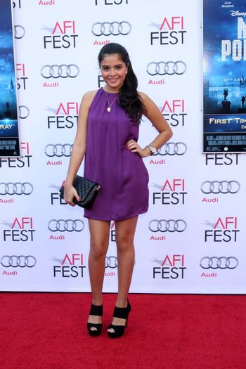 """Maria Mesa at the AFI FEST """"Mary Poppins"""" 50th Anniversary Commemoration Screening, Chinese Theater, Hollywood, CA 11-09-13/ImageCollect"""