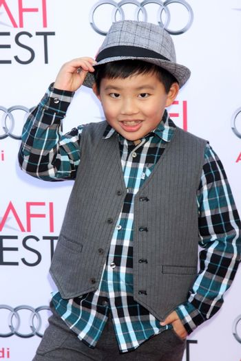 """Albert Tsai at the AFI FEST """"Mary Poppins"""" 50th Anniversary Commemoration Screening, Chinese Theater, Hollywood, CA 11-09-13/ImageCollect"""