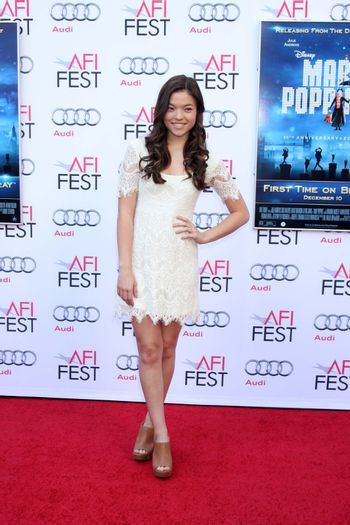 """Piper Curda at the AFI FEST """"Mary Poppins"""" 50th Anniversary Commemoration Screening, Chinese Theater, Hollywood, CA 11-09-13/ImageCollect"""