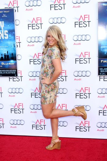 """Chelsia Hightower at the AFI FEST """"Mary Poppins"""" 50th Anniversary Commemoration Screening, Chinese Theater, Hollywood, CA 11-09-13/ImageCollect"""