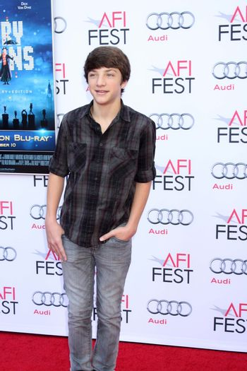 """Jake Short at the AFI FEST """"Mary Poppins"""" 50th Anniversary Commemoration Screening, Chinese Theater, Hollywood, CA 11-09-13/ImageCollect"""