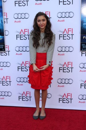 """Rowan Blanchard at the AFI FEST """"Mary Poppins"""" 50th Anniversary Commemoration Screening, Chinese Theater, Hollywood, CA 11-09-13/ImageCollect"""