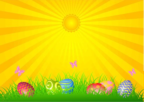 Easter shiny day
