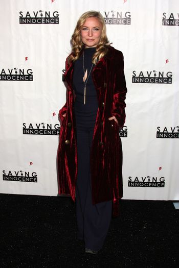 Lindsey Haun at the 2nd Annual Saving Innocence Gala, The Crossing, Los Angeles, CA 12-05-13/ImageCollect