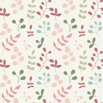 seamless pattern wirh leaf. Use as a fill pattern, backdrop, seamless texture