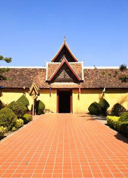 Wat Si Saket Temple in Vientiane, Laos.