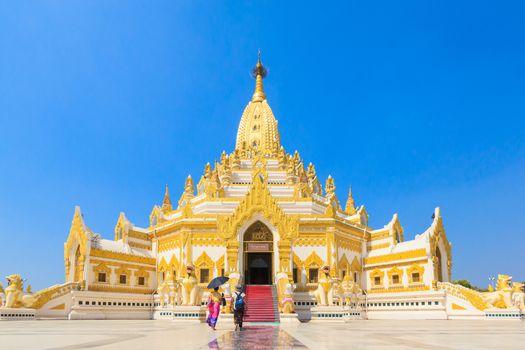 "Temple names ""Swe Taw Myat"", Buddha Tooth Relic Pagada, Yangon M"