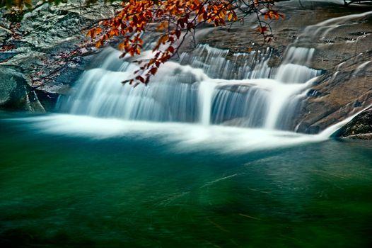 Photographed in China Huangguoshu Waterfall in Guizhou