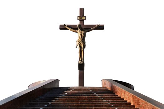 Statue of the crucifixion