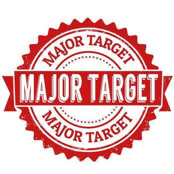 Major target stamp