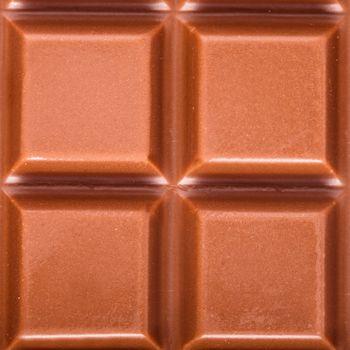 Tile milk chocolate closeup as a background