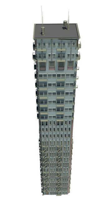 Highly detailed building