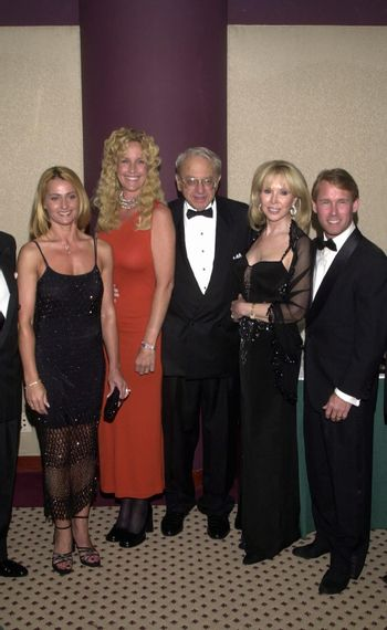 Nadia Comaneci, Erin Brockovich-Ellis, Ed Masry, Joey Masry and Bart Conner at the Night Under The Stars Dinner-Dance to raise money for MS. Beverly Hills, 04-29-00