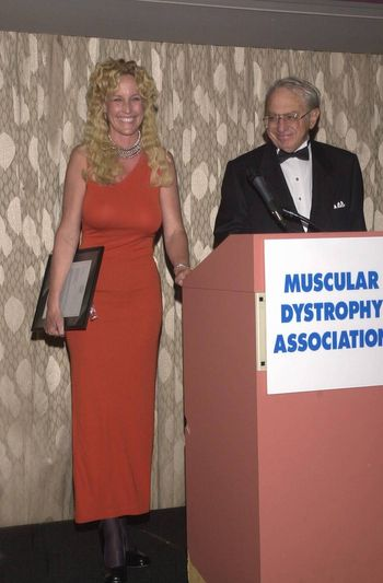 Erin Brockovich-Ellis and Ed Masry at the Night Under The Stars Dinner-Dance to raise money for MS. Beverly Hills, 04-29-00