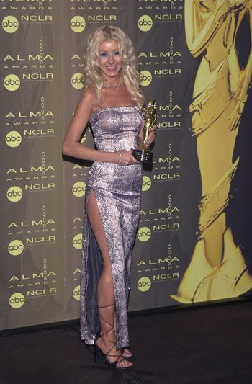 Christina Aguilera at the 2000 Alma Awards, in Pasadena, 04-16-00