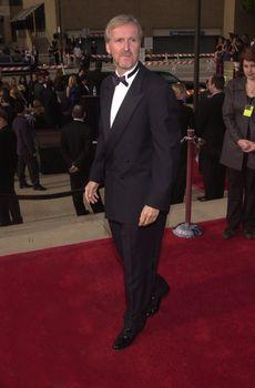 James Cameron at the 2000 Alma Awards, in Pasadena, 04-16-00