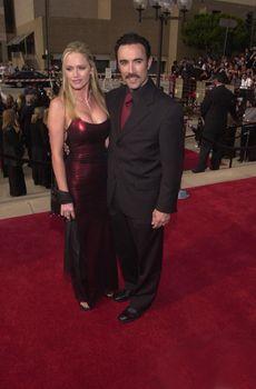 Francisco Quinn and June McCann at the 2000 Alma Awards, in Pasadena, 04-16-00
