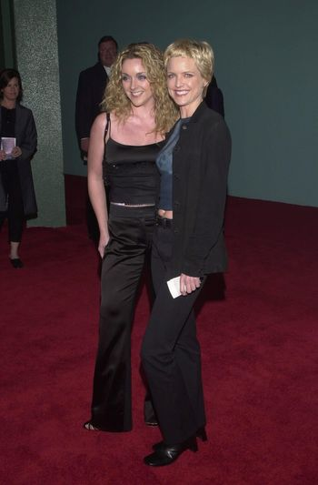 Courtney T. Smith and Jane Krakowski at the 2nd Annual ALS Benefit at the Hollywood Palladium, 04-10-00
