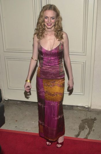 """Heather Graham at the premiere of Miramax's """"COMMITTED"""" in Westwood, 04-18-00"""